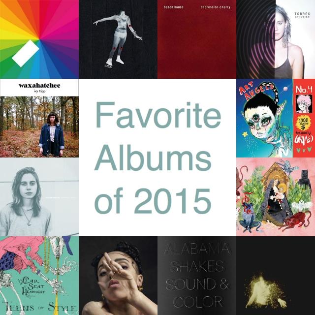 2015 Favorite Albums Final